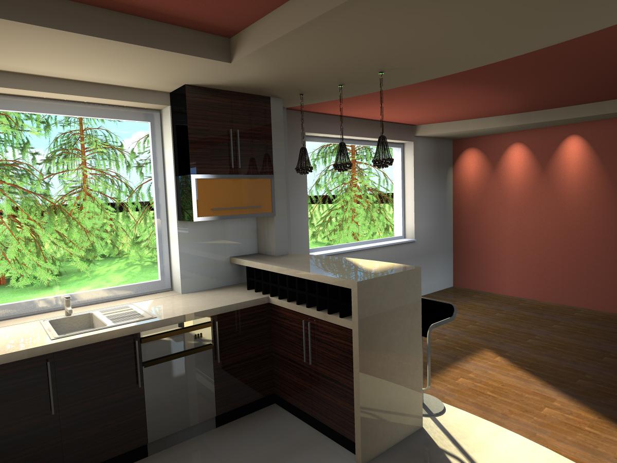 Studio Trójwymiar  Kuchnia w prywatnym domu jednorodzinnym -> Kuchnia Weglowa Ela